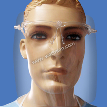 Disposable Face Shield with Glasses