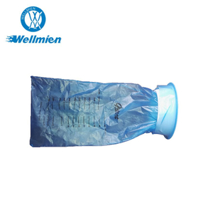 Disposable Plastic Vomit Sickness Bag with Clip