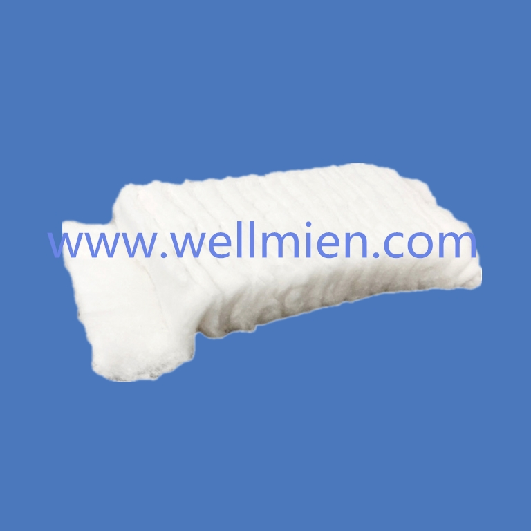 Disposable Zigzag Cotton for Medical and Beauty